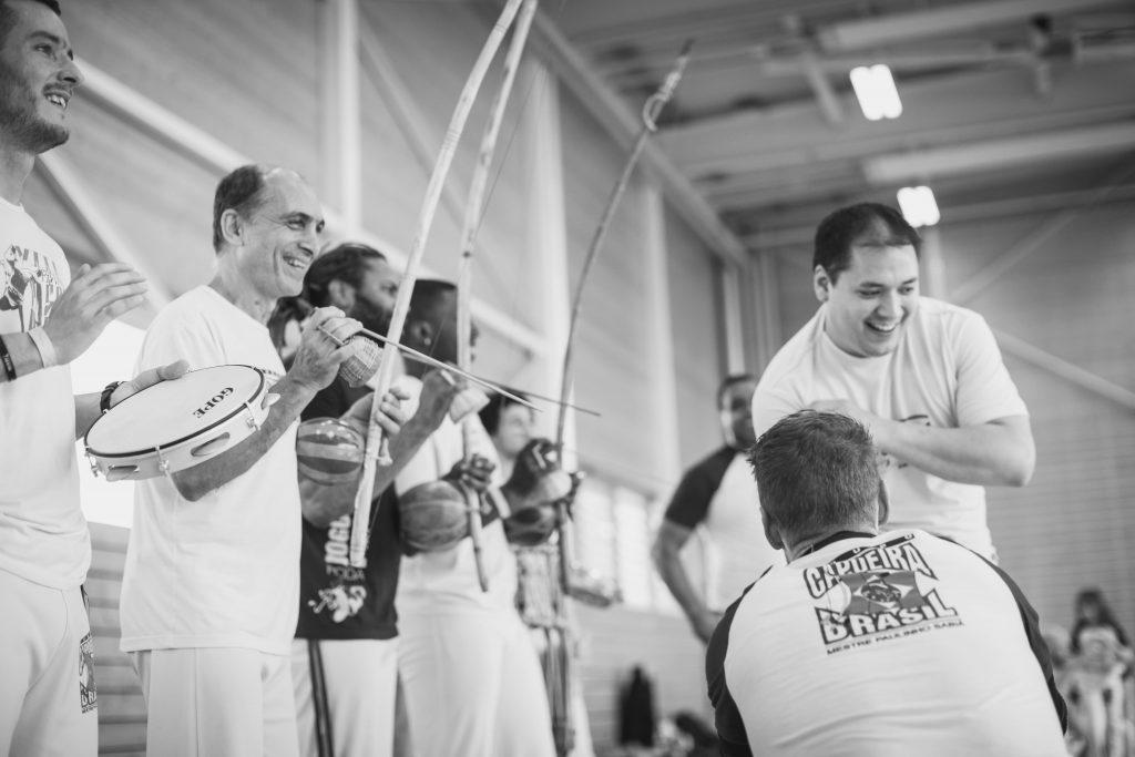 Accès aux cours de capoeira débutants